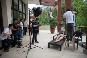 paricipants in action