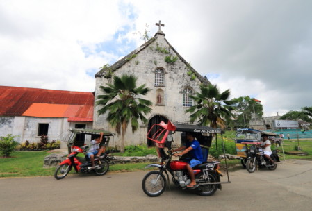 The century old St. Francis de Assisi Parish (Siquijor Church). Photo by Zer Cabatuan.